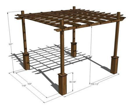 What Do I Need To Build A Patio by Pergola Selber Bauen Ideen Bilder Und Anleitung