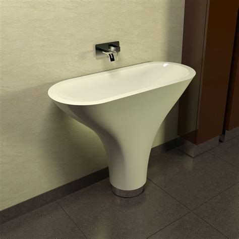 bagno lavabo lavabo a colonna design moderno flounder made in italy