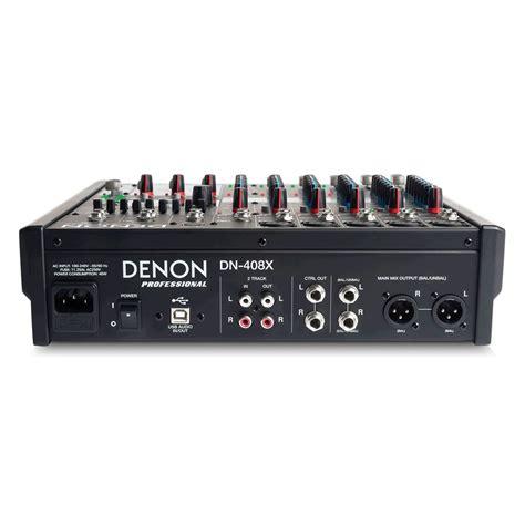 Mixer Audio 1 Jutaan denon dn 408x 8 channel audio mixer at gear4music