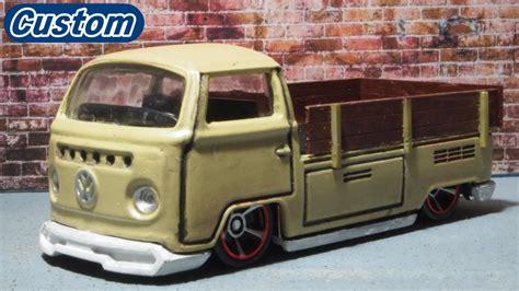 Wheels Volkswagen T2 Up Hotwheels 改造 ホットウィール フォルクスワーゲンt2ピックアップ
