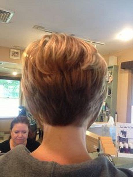 stacked bob haircut long points in front stacked short haircuts hairstyles pinterest the o