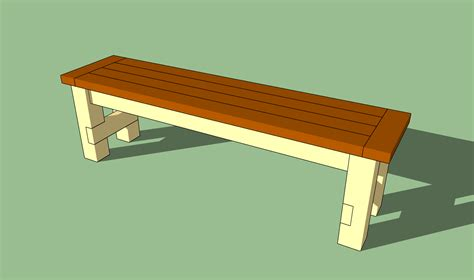 making a bench pdf make a bench plans free