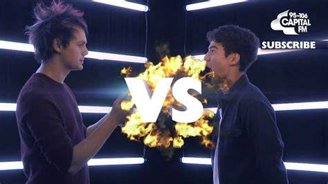 michael 5sos talking french youtube 5sos face to face michael vs calum which member is the