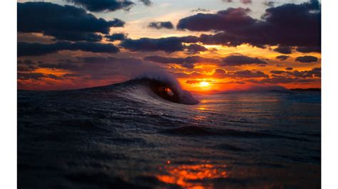 wallpaper 4k wave waves crashing sunset 4k wallpaper wallpaperzone co