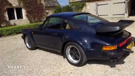 porsche 911 turbo drive and review the legendary 80s