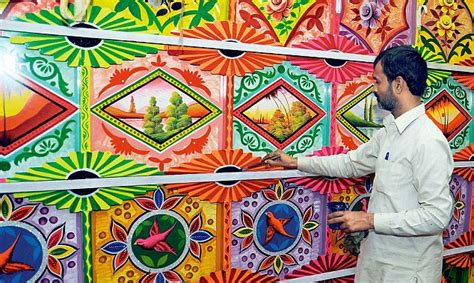 pattern maker in kolkata kolkata s pandals paint a riot of colour as artists from