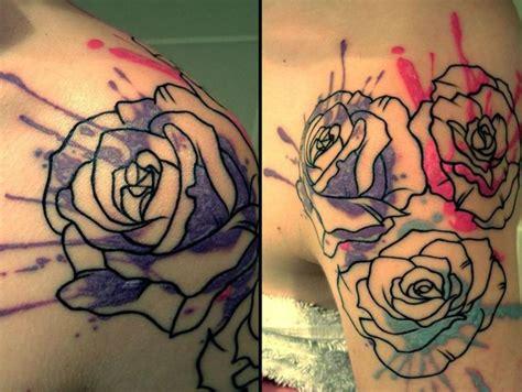 vintage rose tattoos 51 marvelous vintage shoulder flower tattoos