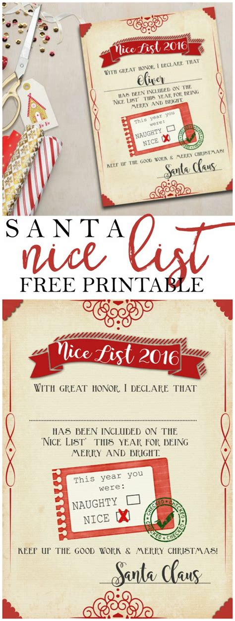 free santa certificate template 25 unique free printable gift certificates ideas on
