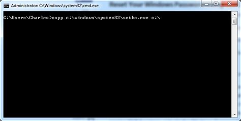 change theme command line windows 7 how to change or reset a windows 7 password