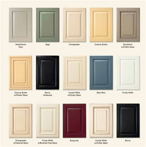 kitchen cabinet color schemes kitchen cabinet door colors kitchen and decor