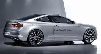 Renault Coupe Rendering Renault Talisman Coupe