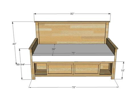 Diy Daybed With Trundle Plans Side Table Woodworking Plans For Daybed