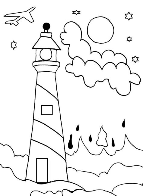 coloring pages of lighthouse of alexandria lighthouse of alexandria coloring pages coloring pages