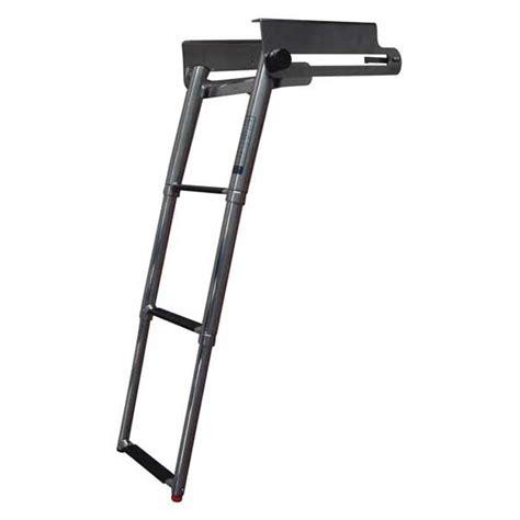 boat ladder west marine west marine 3 step under platformtelescoping swim ladder