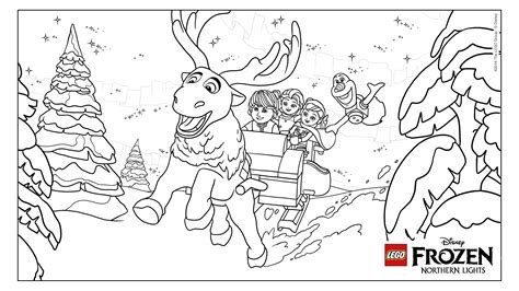 frozen reindeer coloring pages coloring fun with frozen frozen reindeer coloring pages