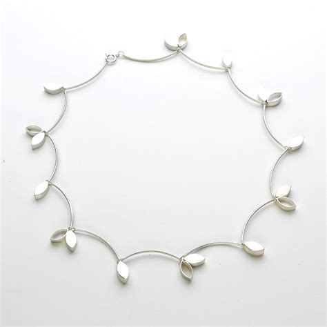 silver necklace contemporary necklaces pendants by
