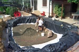 mise en place d un enrochement dans un bassin