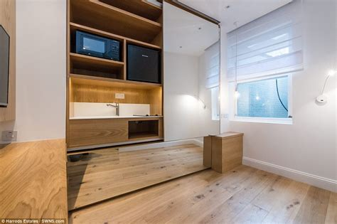 Room Partition Designs tiny apartment is less than nine feet wide but costs a