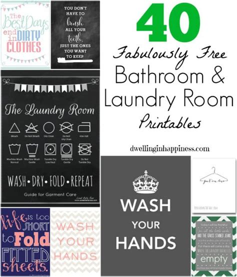 printable laundry room quotes 40 fabulously free bathroom laundry room printables