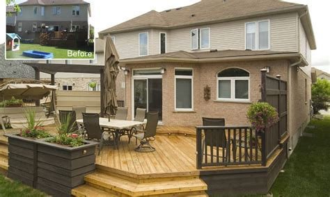 backyard deck images small backyard deck cost landscaping gardening ideas