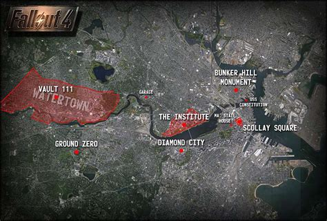 Fallout 4 List Of Settlement Locations Fallout 3