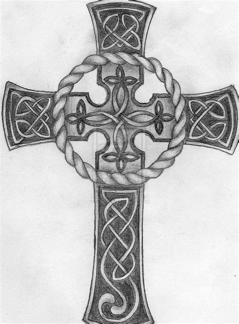 pics of celtic cross tattoos pin celtic cross design blueprints for square shaped faces