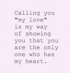 you are my only love quotes quotesgram