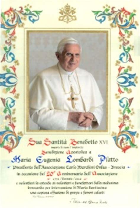 elemosineria apostolica ufficio pergamene la benedizione apostolica santo padre sulla nostra