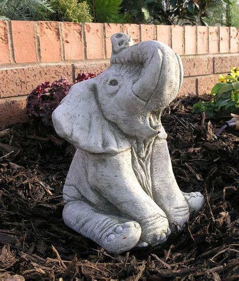 ellie the elephant garden ornament statue 163 23 99 garden4less uk shop