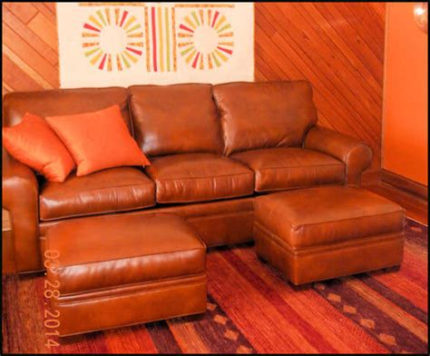 Burnt Orange Leather Sofa Orange Leather Sofa Burnt Orange Leather Sofa