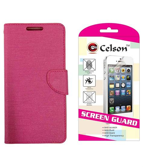 Screen Guard Asus Zenfone 2 Laser 5 5 Inch Tempered Glass celson screen guard flip cover for asus zenfone 2 laser 5 5 ze550kl flip cover pink