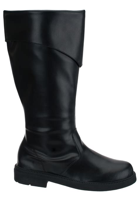 mens black boots costume footwear