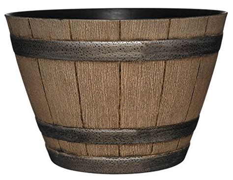 Whiskey Barrel Planter Drainage by Whiskey Barrel Planter Distressed Oak 15 Quot