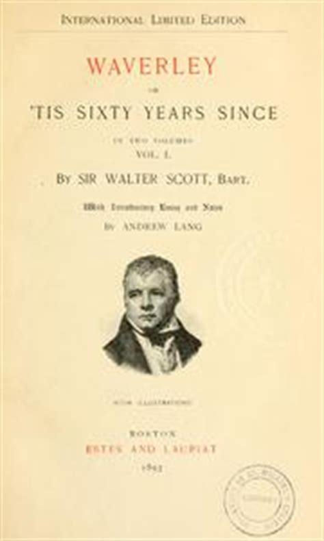waverley novels 1893 edition open library