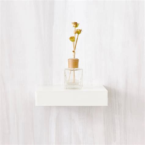 10 ways to work with floating white shelves way basics amalfi 10 in x 2 in zboard wall shelf