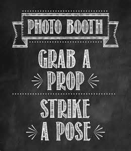 Photo Booth Sign Template Free 40th Birthday Party Tidbits Amp Twine