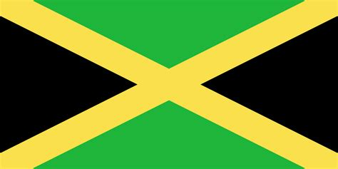 file flag of jamaica png wikimedia commons