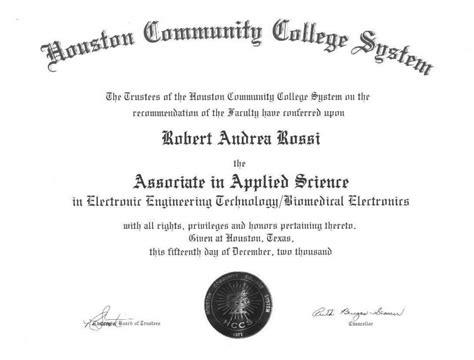 how do you write associate degree on a resume free