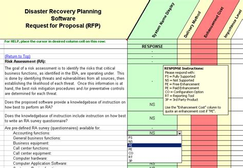 project recovery plan template disaster recovery plan vs business continuity disaster
