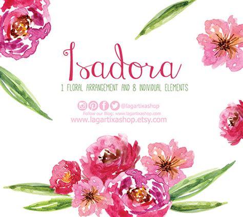 cornici floreali da stare watercolor clipart floral png wedding bouquet arrangement