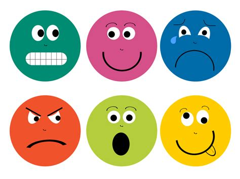 emotions clipart emotions clipart name pencil and in color emotions