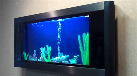 aquavista panoramic wall aquarium fish tank aquariums at wall aquarium w automatic feeder aquavista panoramic