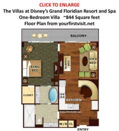 key west 2 bedroom villa floor plan disney s grand floridian resort and spa 1 bedroom floor plan milesgeek milesgeek