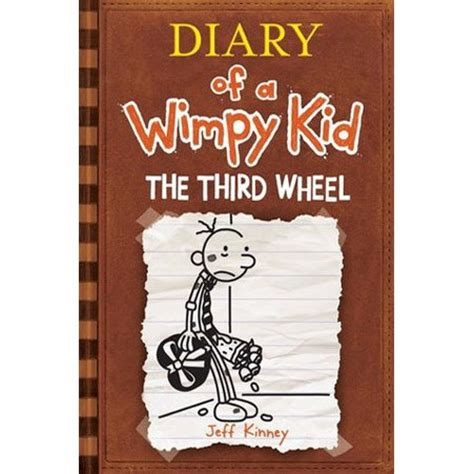 diary of a wimpy kid third wheel book report the third wheel diary of a wimpy kid 7 by jeff kinney