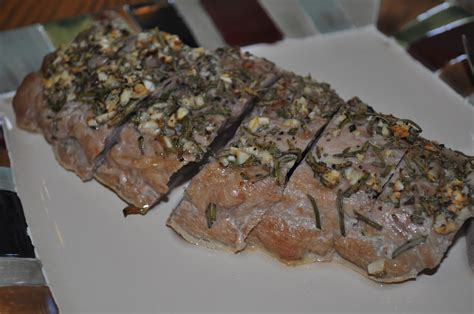 160 Sprei Bonita Rosemary No 2 beth s favorite recipes pork tenderloin studded with