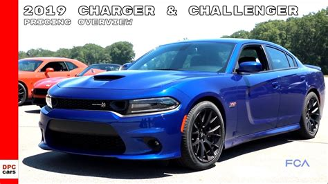Dodge Charger Lineup by 2019 Dodge Charger Challenger Lineup Pricing Overview