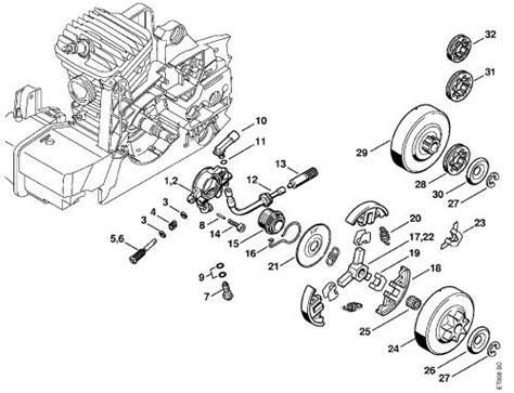 stihl 039 chainsaw parts diagram stihl 039 parts diagram stihl free engine image for user