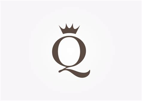 king and queen crown logo