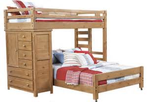 Bunk Bed Rooms To Go Creekside Taffy Student Loft Bed W Chest Bunk Beds
