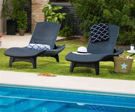 Wicker Pool Lounge Chairs by Tangkula Adjustable Pool Chaise Lounge Chair Outdoor Patio